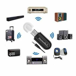 USB 3.5mm Wireless Adapter Dongle Bluetooth 4.0 Audio Stereo