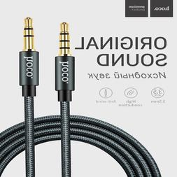 AUX AUXILIARY 3.5mm Cable Male to Male Car Audio Cord For iP