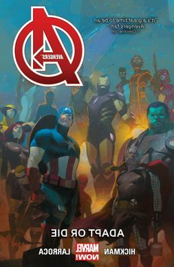 Avengers Volume 5 Adapt or Die Graphic Novel Hard Cover Book
