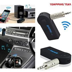 NEW Bluetooth Wireless Audio Receiver 3.5mm for Car Stereo M