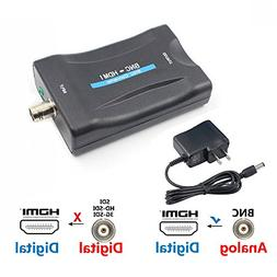 BNC to HDMI Converter - Female BNC Video Component Adapter A