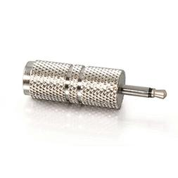 C2G 40630 2.5mm Mono Male to 3.5mm Stereo Female Adapter, TA