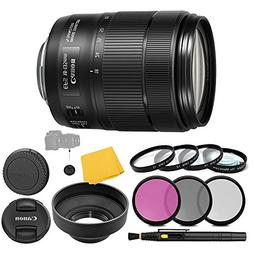 Canon EF-S 18-135mm f/3.5-5.6 IS Nano USM Lens + 3 Piece Fil
