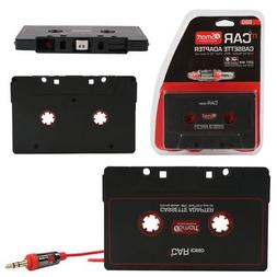 Car Audio Tape Cassette Adapter to Jack AUX for for iPod iPh