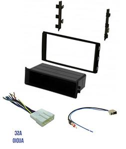 Premium ASC Car Stereo Dash Install Kit, Wire Harness, and A