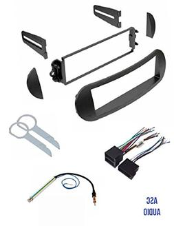 ASC Car Stereo Dash Kit, Wire Harness, Antenna Adapter, and