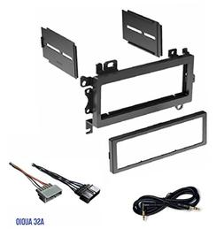Car Stereo Dash Kit and Wire Harness for Installing a new Si