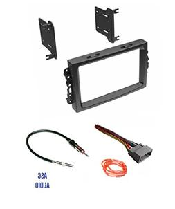 ASC Audio Car Stereo Install Dash Kit, Wire Harness, and Ant
