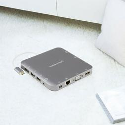 CableCreation CD0442 USB Adapter - SKY Gray