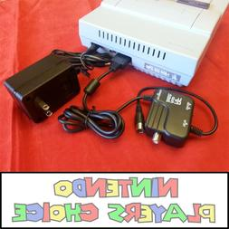COMBO Power Cord AC Adapter & RF RFU Cable For the Super Nin
