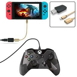 FastSnail Controller Converter for Nintendo Switch, Makes PS