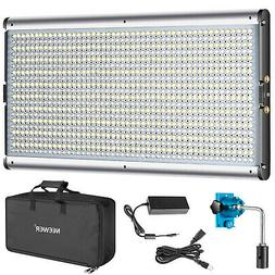 Neewer Dimmable Bi-Color LED Professional Video Light for St