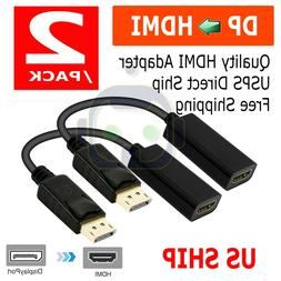 dp displayport male to hdmi female cable