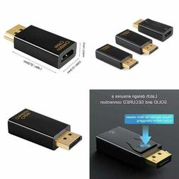 dp to hdmi adapter 3 pack 1080p