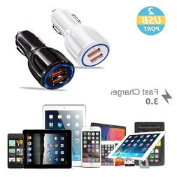 Dual USB 3.1A 12V Car Charger Adapter 3.0 Fast Charging For