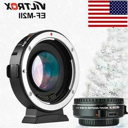 #US VILTROX EF-M2II AUTO FOCUS ADAPTER SPEED BOOSTER FOR CAN