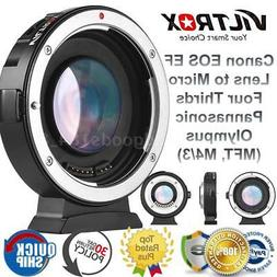 Viltrox EF-M2II Auto Focus Reducer Speed Booster Adapter for