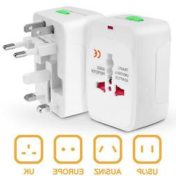 US to EU Universal Europe Travel Adapter Charger Converter A
