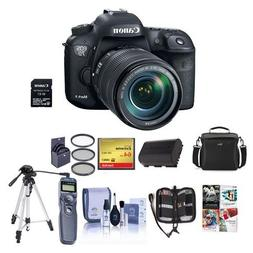 Canon EOS 7D MII DSLR Camera w/EF-S 18-135mm IS Lens/Wifi Ad