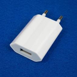 EU Plug USB AC Wall Charger Europe Power Adapter for iPhone