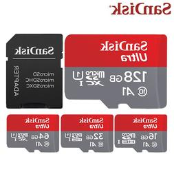 <font><b>Sandisk</b></font> 128GB TF Card 64GB 16GB Micro Ca