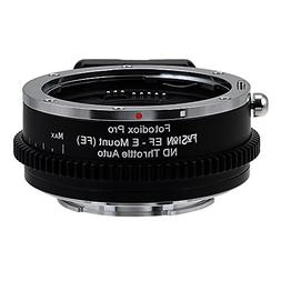 Fotodiox Pro Fusion Adapter, FUSION EF Lens - E MOUNT  With