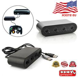 GameCube Controller Adapter 4port for nintendo Switch Wii U&