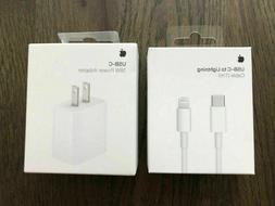 Genuine! Orignal 18W Fast Charger USB-C Power Adapter Cable