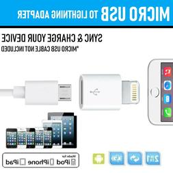 Genuine Quality APPLE Lightning to Micro USB Adapter