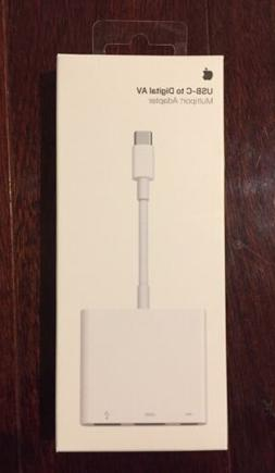 Genuine Apple USB-C Digital AV Multiport Adapter  MJ1K2AM/A