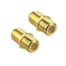 VCE  Gold Plated F-Type Coaxial RG6 Connector,Cable Extensio