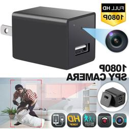 HD 1080P Spy Hidden Camera USB Wall Charger Adapter Video Re