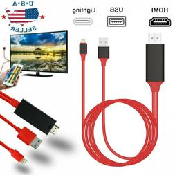 1080 HDMI Phone to TV Cable Adapter Converter Fit For iPhone