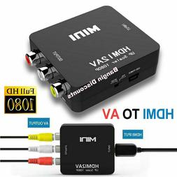 hdmi to rca av adapter converter cable