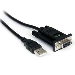 Icusb232ftn Usb To Null Modem Rs232 Db9 M/M Serial Dce Adapt