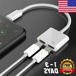 For iPhone X Xs MAX 8 7 Plus Adapter & Charge Cable