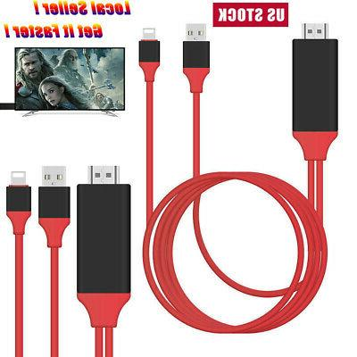 1080p 8pin lightning connect to hdmi tv