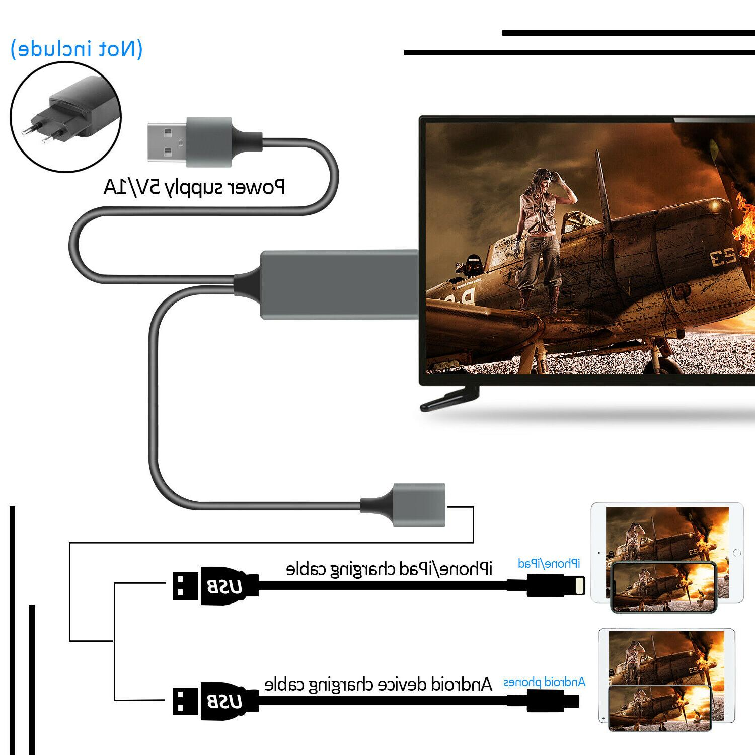 1080P HDMI Phone TV Adapter For