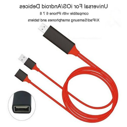 1080P HDMI Phone to Adapter For iPad/ Android