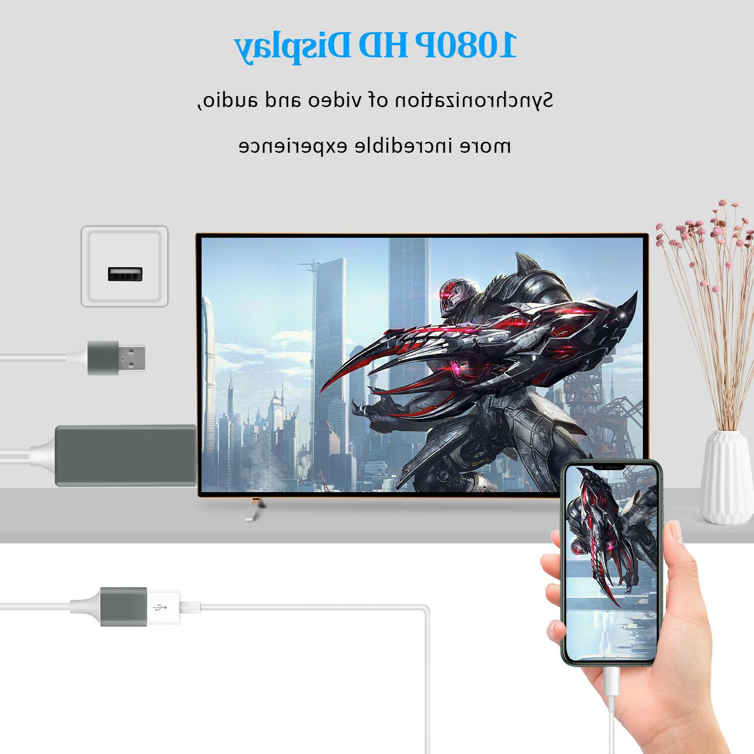 1080P Phone Adapter For iPad/