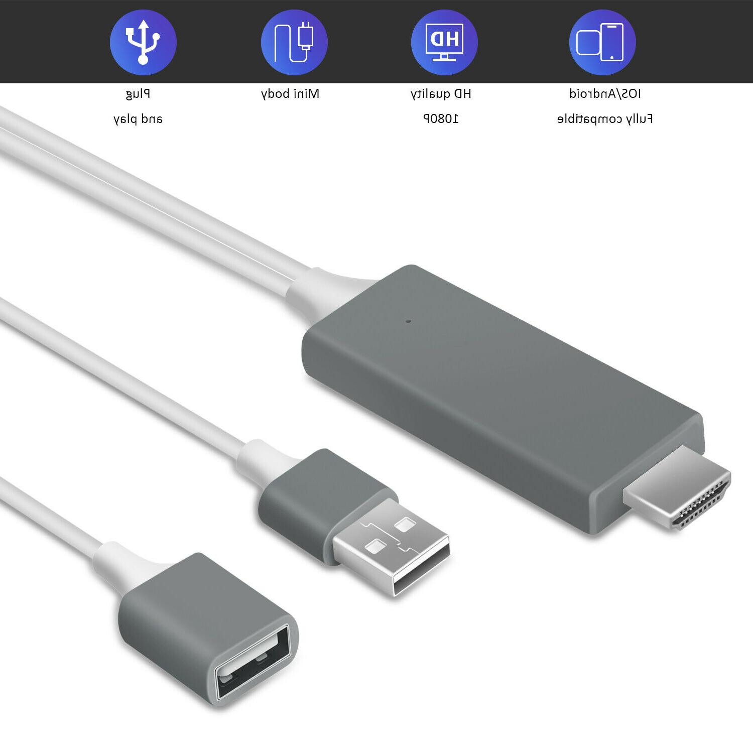 Phone TV Adapter For iPad/