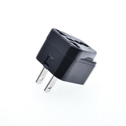 110-250V AC EU/UK/AU Plug Travel Conversion