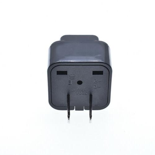 110-250V EU/UK/AU Plug Travel