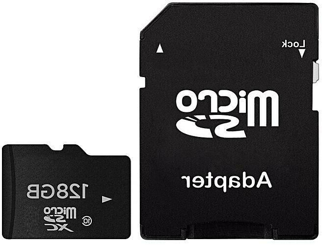 128GB SD Class with adapter