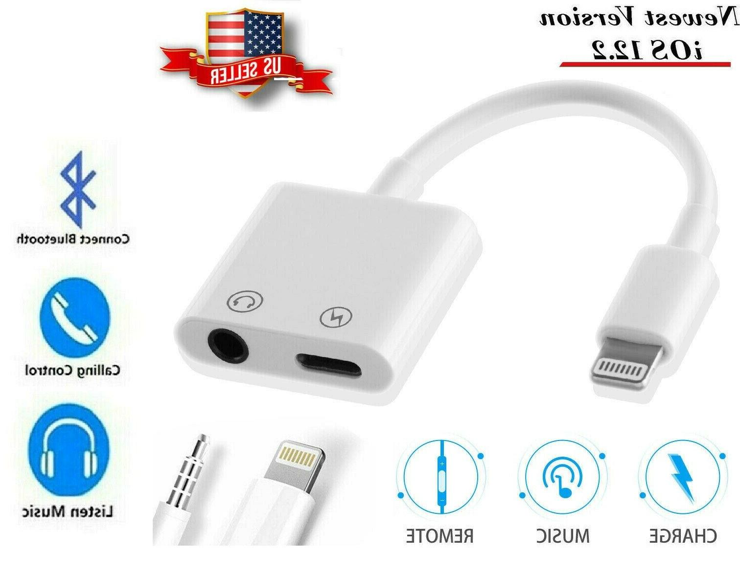 2 in 1 headphone adapter jack lightning