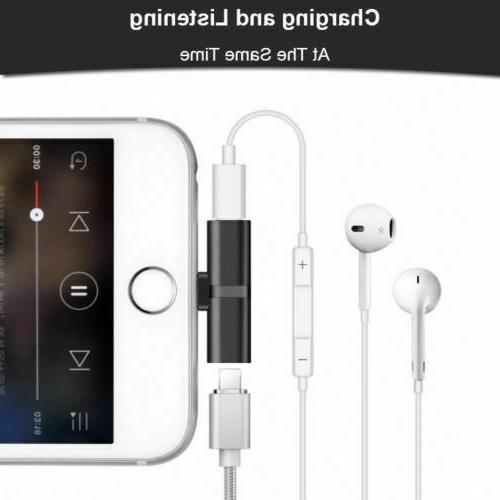 2 Lightning Adapter Audio For iPhone 7 11
