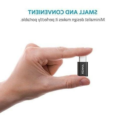Anker Micro USB to USB C Adapter, Converts USB to
