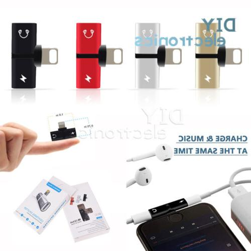 2 in1 dual for lightning adapter charging