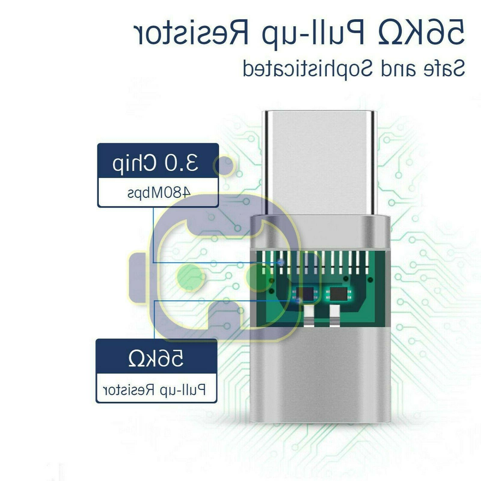 2 Micro to C Converter Micro-B Connector