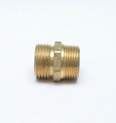 3/4 Male NPT Pipe to 3/4 Male Garden Hose GHT Thread Adapter